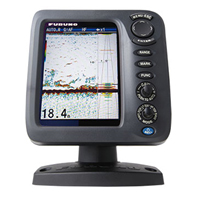 """5.7"""" COLOR LCD FISH FINDER"""